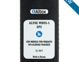 ALTOX WBUS-5 GPS (for Webasto)